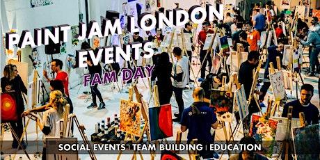 PAINT JAM FAM DAY  - social events, team-building & education tickets