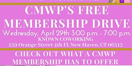 CMWP Membership Drive tickets