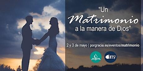 """""""Un matrimonio a la manera de Dios"""" entradas"""