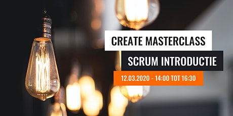 Create Masterclass - Scrum introductie tickets