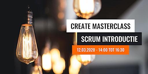 Create Masterclass - Scrum introductie