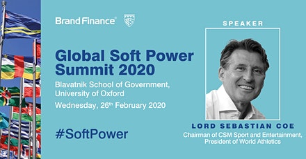 Global Soft Power Summit 2020 with Lord Sebastian Coe tickets