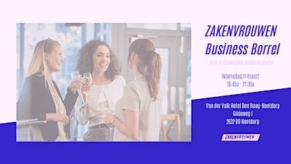 Zakenvrouwen Business Borrel #21 voor vrouwelijke ondernemers [Den Haag] tickets