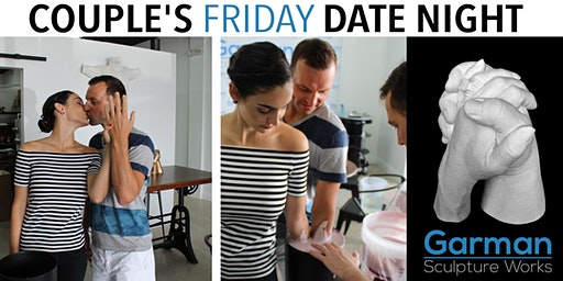 Couple's Friday Date Night @ 6PM- Have YOUR Hands Bonded Together Forever!