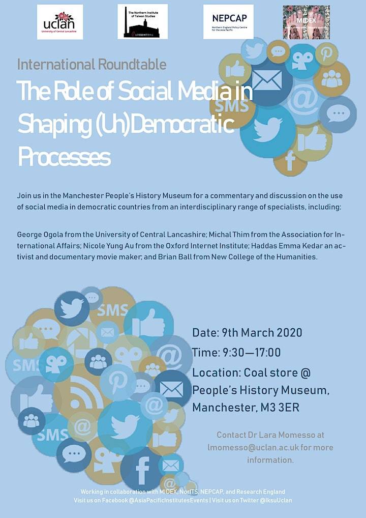 Roundtable: The Role of Social Media in Shaping (Un)Democratic Processes image