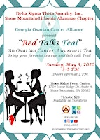 """Red Talks Teal"" An Ovarian Cancer Awareness Tea"