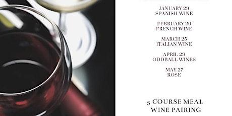 Wine Dinner: French Wine tickets