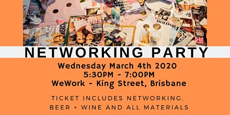 2020 Vision Board Networking Party - A powerful manifesting tool. tickets