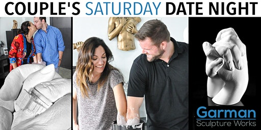 Couple's Saturday Date Night  - Have YOUR Hands Bonded Together Forever!