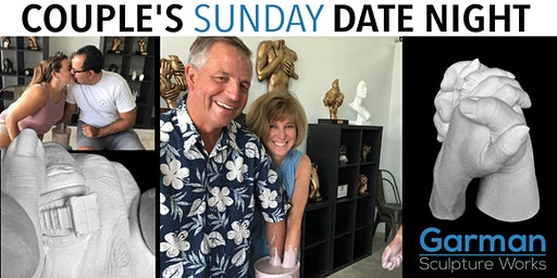 Couple's Sunday Date Night  - Have YOUR Hands Bonded Together Forever!