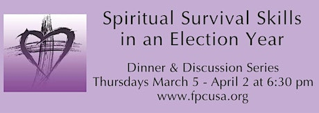 Spiritual Survival Skills for an Election Year tickets