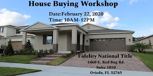 House Buying Workshop