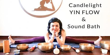 Candlelight Yin Flow & Sound Bath: Connect through Stillness tickets