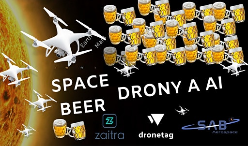SPACE BEER: Drony a AI
