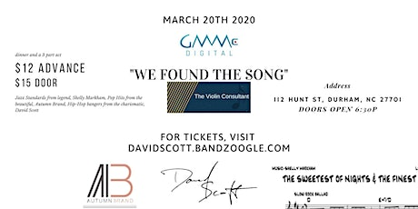 """""""We Found The Song""""  tickets"""