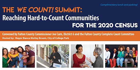 THE WE COUNT SUMMIT! tickets