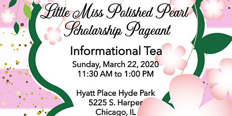 2020 Little Miss Polished Pearl  Scholarship Pagea tickets