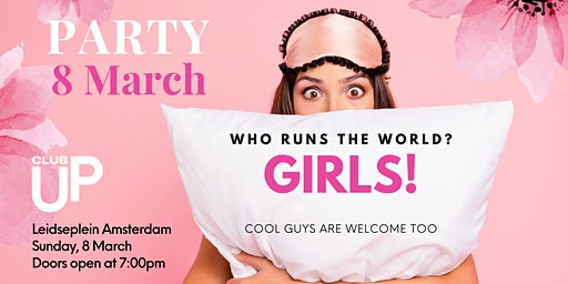 Disco party: who runs the world? GIRLS!