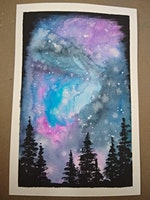 BYOB Galaxy Watercolor at Flow
