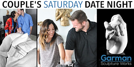 Couple's Saturday Date Night  - Have YOUR Hands Bonded Together Forever! tickets