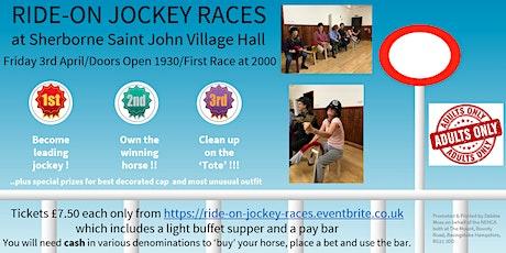 RIDE-ON JOCKEY RACES tickets