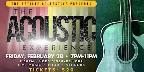 The Artiste Collective Presents: The Acoustic Experience tickets