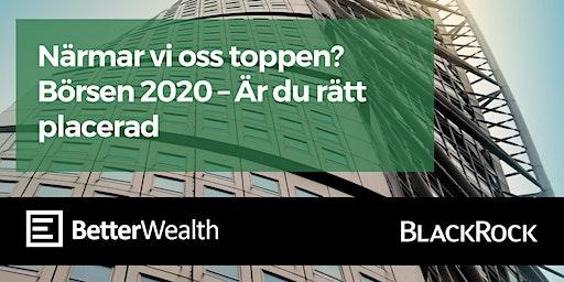 Börsen 2020 - Är du rätt placerad?