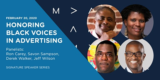 Signature Speaker Series: Honoring Black Voices in Advertising-AMA Richmond