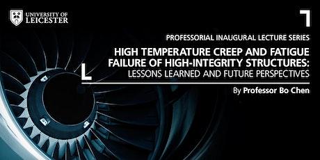 Inaugural Lecture - Professor Bo Chen tickets