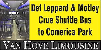 Def Leppard Shuttle Bus to Comerica Park from Hamlin Pub 25 Mile & Van Dyke