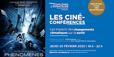 LES CINÉ-CONFÉRENCES  | Avec Dre Claudel Petrin-Desrosiers billets