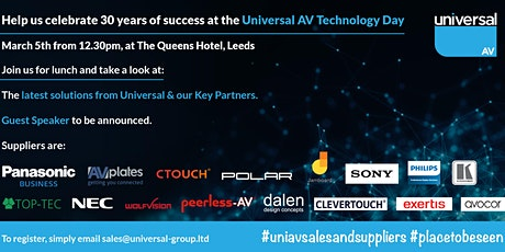 Universal AV Technology Day tickets