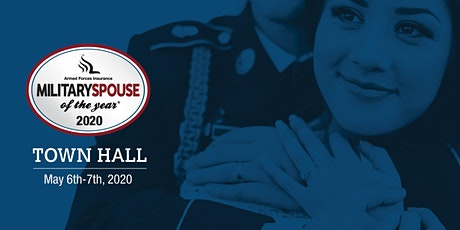 Armed Forces Insurance Military Spouse of the Year® 2020 Town Hall tickets