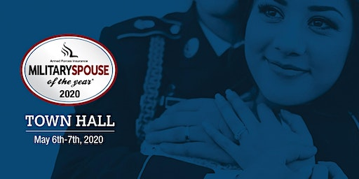 Armed Forces Insurance Military Spouse of the Year® 2020 Town Hall