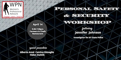 Personal Safety and Security Workshop tickets