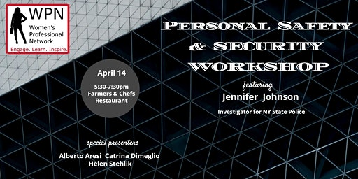 Personal Safety and Security Workshop