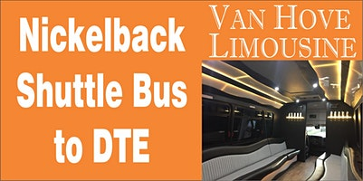 Nickelback Shuttle Bus to DTE from O'Halloran's / Orleans Mt. Clemens