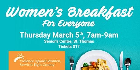 Women's Breakfast for Everyone 2020 tickets