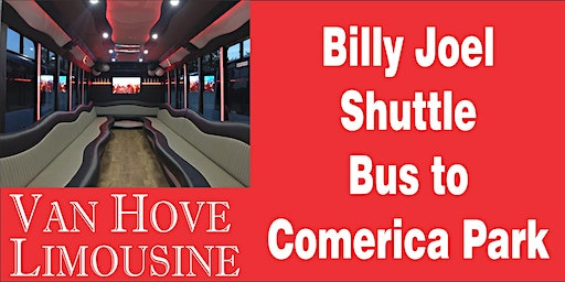 Billy Joel Shuttle Bus to Comerica Park from Hamlin Pub 22 Mile & Hayes