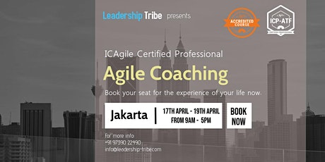 ICAgile Certified Professional Agile Coaching (ICP-ACC) -Jakarta tickets