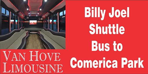 Billy Joel Shuttle Bus to Comerica Park from O'Halloran's / Orleans Mt. Clemens