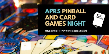 APRS Pinball & Card Games Night tickets