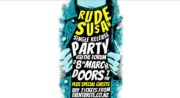 Rude Susan Single Release Party