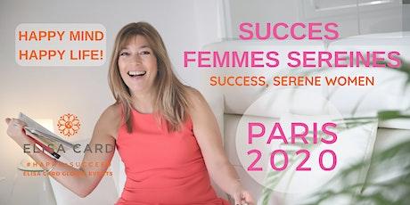 ATELIER-COACHING «SUCCES, FEMMES SEREINES» - PARIS billets