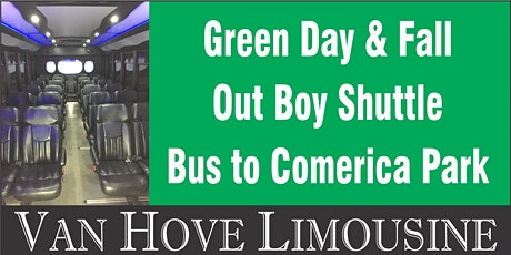 Green Day Shuttle Bus to Comerica Park from O'Halloran's / Orleans Mt. Clemens tickets