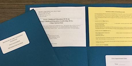 Sheridan ECE Field Placement Workshop - Davis - B311 tickets