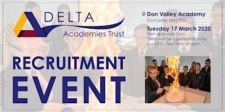 Delta Academies Trust - Education Recruitment Event tickets