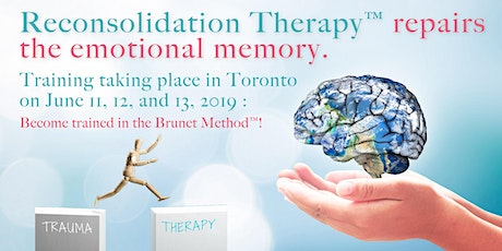 Reconsolidation Therapy™ : Foundations and Practice - Toronto tickets