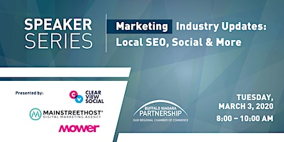 2020 Speaker Series: Marketing - Industry Updates - Local SEO, Social & More