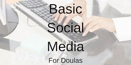 Basic Social Media for Doulas tickets